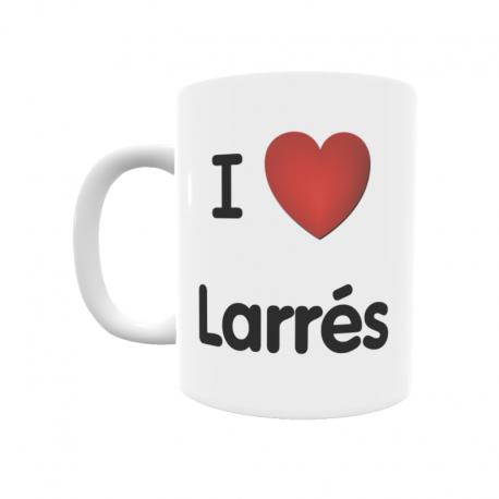 Taza - I ❤ Larrés