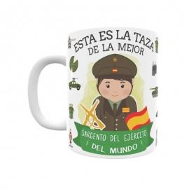 Taza - Sargento del Ejército (Ella)