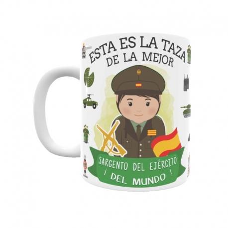 Taza - Sargento del Ejército