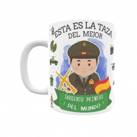 Taza - Sargento Primero del Ejército