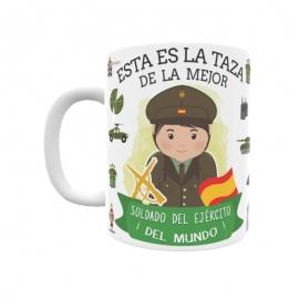 Taza - Soldado del Ejército