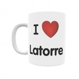 Taza - I ❤ Latorre