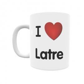 Taza - I ❤ Latre