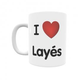 Taza - I ❤ Layés