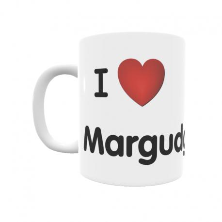 Taza - I ❤ Margudgued