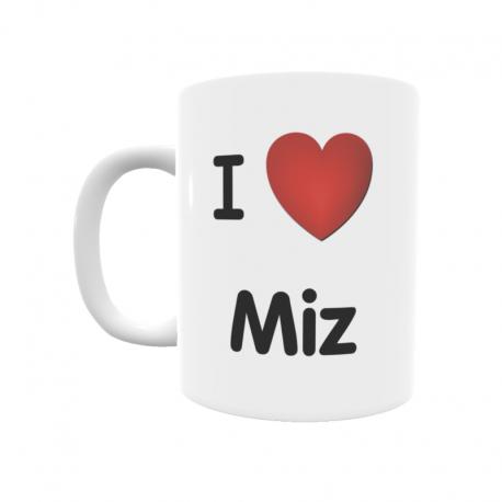 Taza - I ❤ Miz