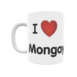 Taza - I ❤ Mongay
