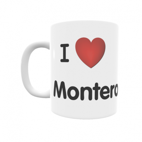 Taza - I ❤ Montero