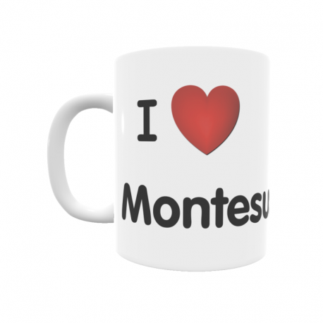 Taza - I ❤ Montesusín