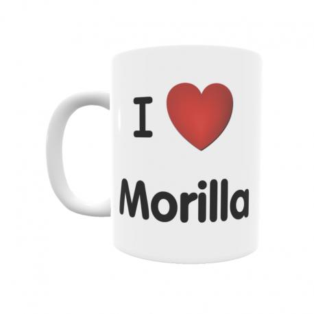 Taza - I ❤ Morilla