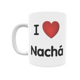 Taza - I ❤ Nachá