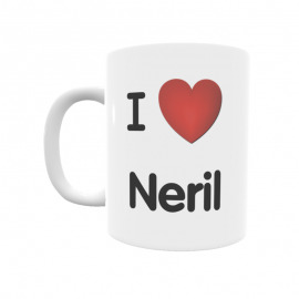 Taza - I ❤ Neril