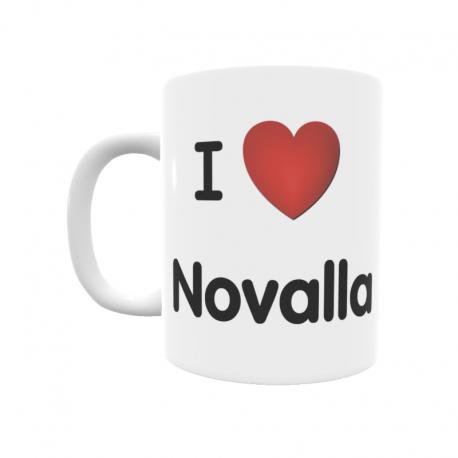 Taza - I ❤ Novalla
