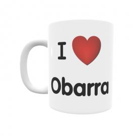Taza - I ❤ Obarra