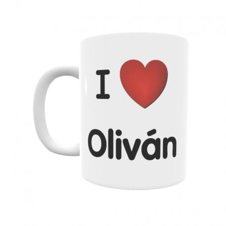 Taza - I ❤ Oliván
