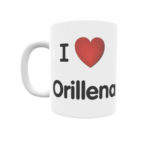 Taza - I ❤ Orillena