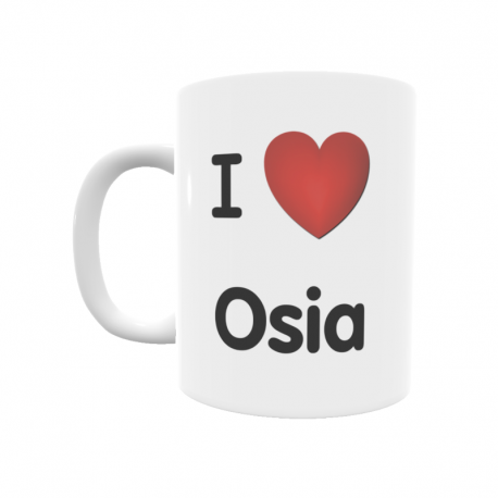 Taza - I ❤ Osia