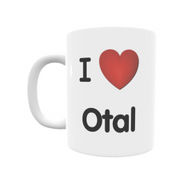 Taza - I ❤ Otal