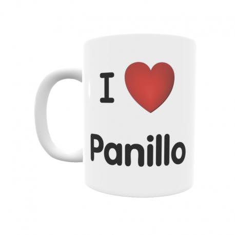 Taza - I ❤ Panillo