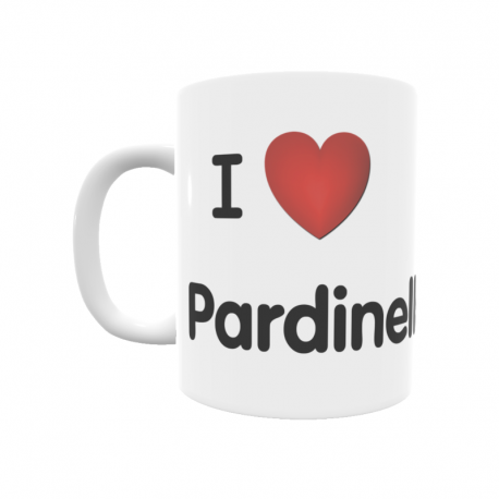 Taza - I ❤ Pardinella