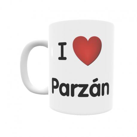 Taza - I ❤ Parzán