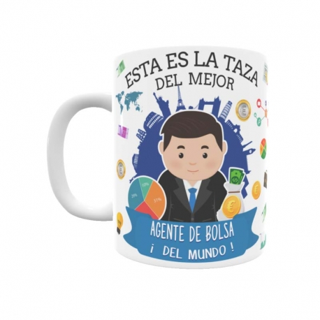 Taza - Agente de Bolsa