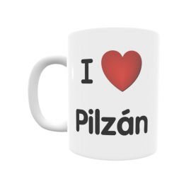 Taza - I ❤ Pilzán