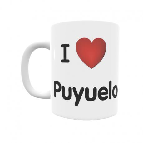 Taza - I ❤ Puyuelo