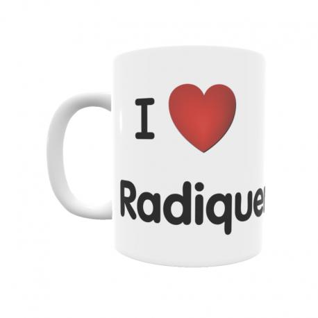 Taza - I ❤ Radiquero