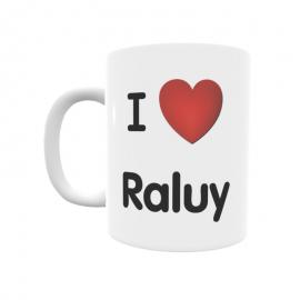 Taza - I ❤ Raluy