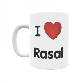 Taza - I ❤ Rasal