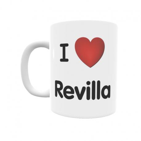 Taza - I ❤ Revilla