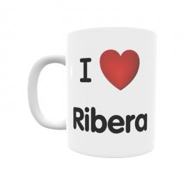 Taza - I ❤ Ribera