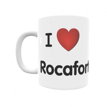Taza - I ❤ Rocafort
