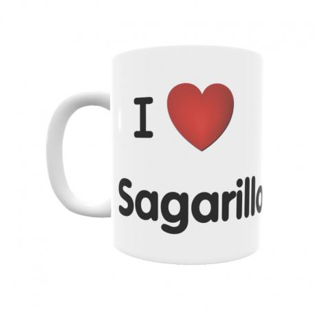 Taza - I ❤ Sagarillo