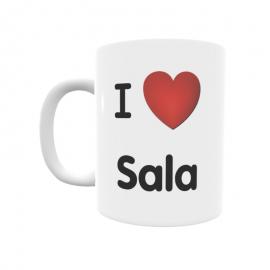 Taza - I ❤ Sala