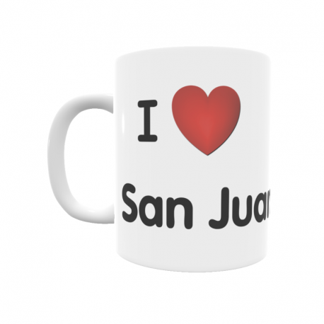 Taza - I ❤ San Juan