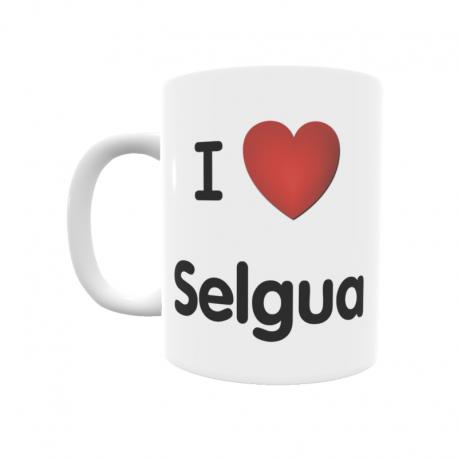 Taza - I ❤ Selgua