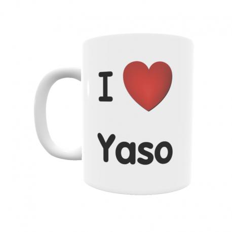 Taza - I ❤ Yaso