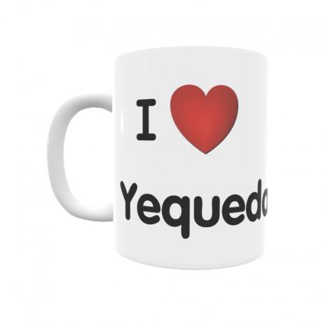Taza - I ❤ Yequeda