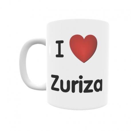 Taza - I ❤ Zuriza