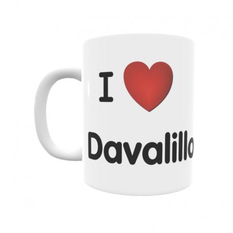 Taza - I ❤ Davalillo