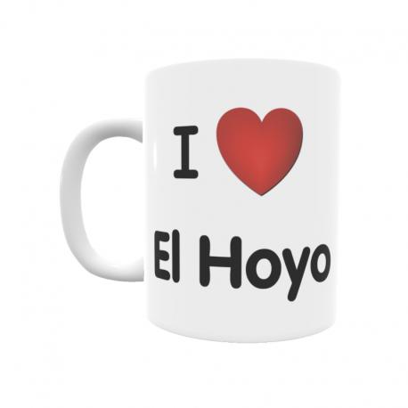 Taza - I ❤ El Hoyo