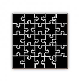 Puzzle Madera MDF 25 Piezas