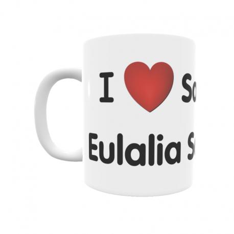 Taza - I ❤ Santa Eulalia Somera