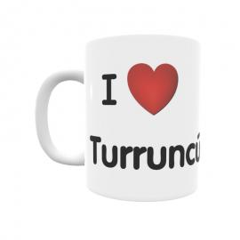 Taza - I ❤ Turruncún