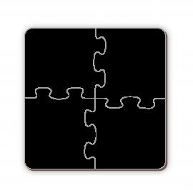 Puzzle Madera MDF 4 piezas