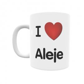 Taza - I ❤ Aleje