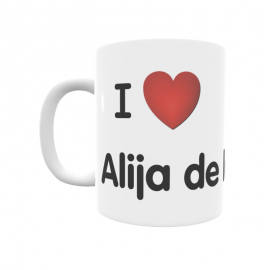 Taza - I ❤ Alija de la Ribera