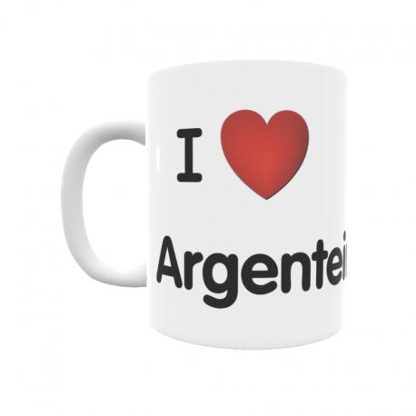 Taza - I ❤ Argenteiro